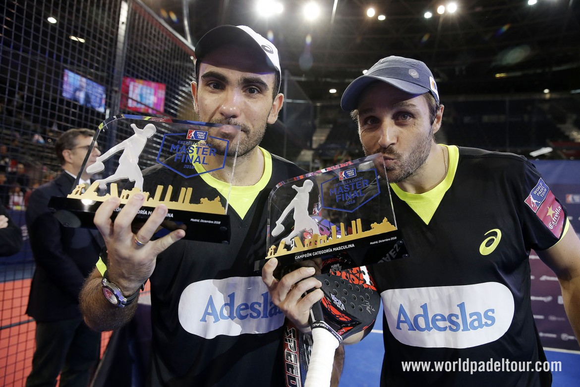 El Club brilla en el Masters Final del circuito World Padel Tour